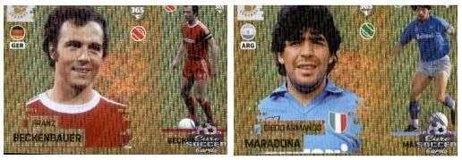 Legends Panini Fifa 365