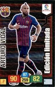 Arturo Vidal Edición Limitada Adrenalyn XL 2018-19